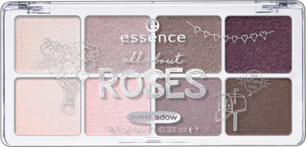 Тени для век All About Essence 03 roses: фото