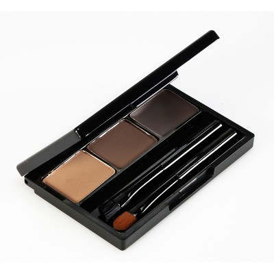 Палетка теней для бровей Holika Holika Wonder Drawing Eyebrow Kit тон 02, светло-коричневый: фото
