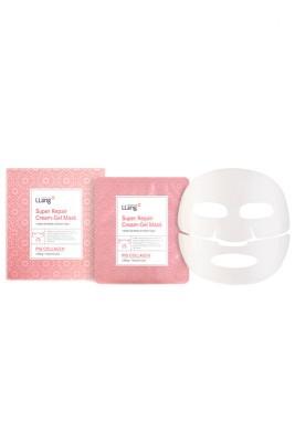 Гидрогелевая восстанавливающая маска с коллагеном Llang, 25 гр*5: фото