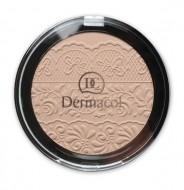 Компактная пудра Dermacol Compact powder with lace relief тон 4: фото