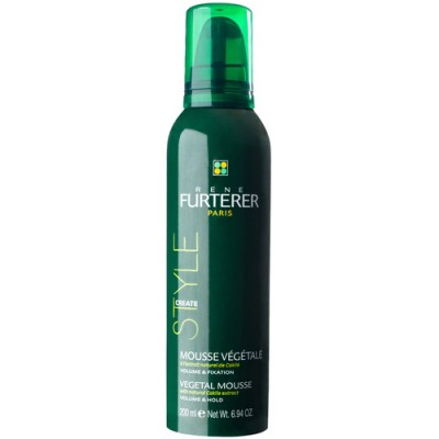 Растительный мусс с натуральным экстрактом горчицы для объема и фиксации волос Rene Furterer 200 мл: фото