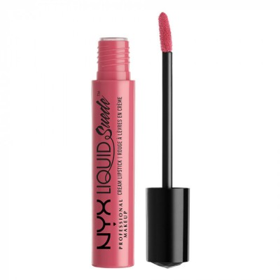 Жидкая помада NYX Professional Makeup Liquid Suede Cream Lipstick SOFT- TEA & COOKIES 09: фото
