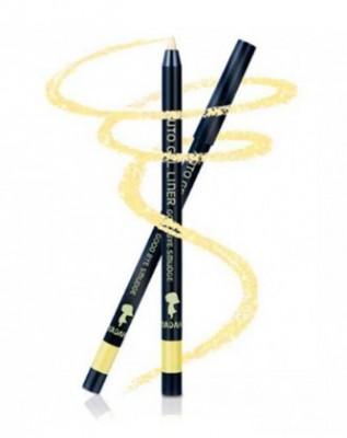 Карандаш автоматический для глаз YADAH Auto gel liner good bye smudge насыщенно золотой 05: фото