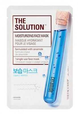 Тканевая маска увлажняющая THE FACE SHOP The Solution Moisturizing Face Mask: фото