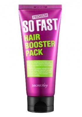 Маска для роста волос SECRET KEY Premium So Fast Hair Booster Pack: фото