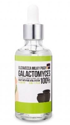Сыворотка со 100% экстрактом галактомисиса ELIZAVECCA Milky Piggy Galactomyces Ferment Filtrate 100%: фото