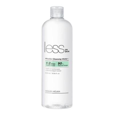 Мицелярная вода Holika Holika Less On Skin Micellar Cleansing Water 500мл: фото