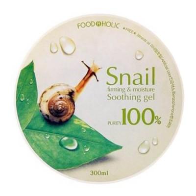 Гель FoodaHolic Snail Firming and Moisture Soothing Gel, 300мл, FoodaHolic: фото