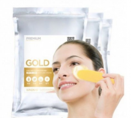 Альгинатная маска LINDSAY Premium gold modeling mask pack 1000г: фото