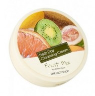 Крем очищающий с экстрактом фруктового микса THE FACE SHOP Herb day cleansing cream Fruit Mix 150 мл: фото