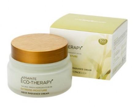 Крем для сияния кожи THE FACE SHOP Arsainte eco-therapy aqua radiance cream 80 мл: фото