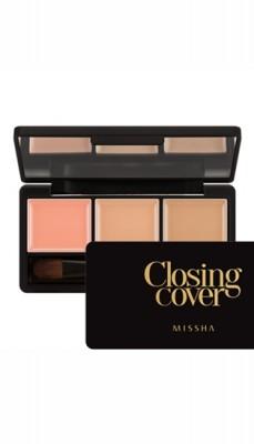 Набор консилеров для лица MISSHA Closing Cover Palette Concealer No.1/Vanilla Mix: фото