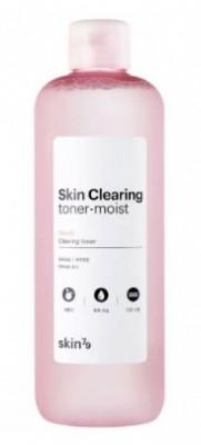 Очищающий увлажняющий тонер с неролиевым маслом SKIN79 Skin clearing toner moist 500 мл: фото
