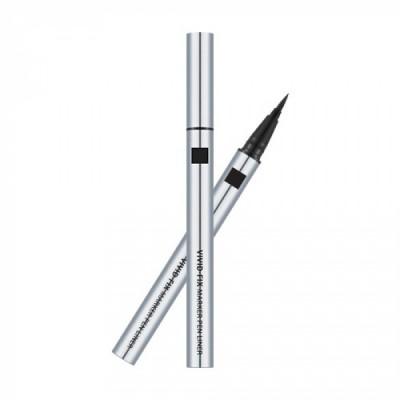Подводка для глаз MISSHA Vivid Fix Brush Pen Liner Deep Black: фото
