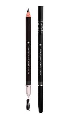 Контурный карандаш для бровей MISSHA Smudge Proof Wood Brow Black: фото