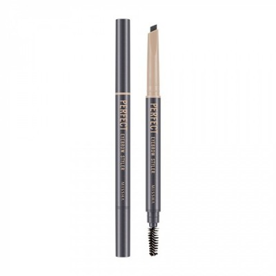 Автоматический карандаш для бровей MISSHA Perfect Eyebrow Styler Gray: фото