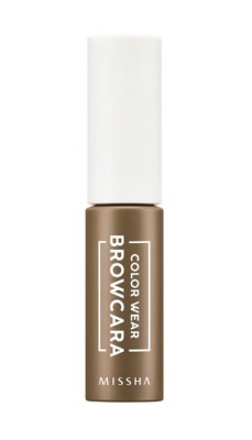 Тушь для бровей MISSHA Color Wear Browcara Neutral Brown: фото