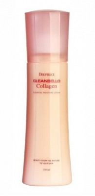 Лосьон для лица с коллагеном и гиалуроновой кислотой DEOPROCE Cleanbello collagen essential moisture lotion 150мл: фото