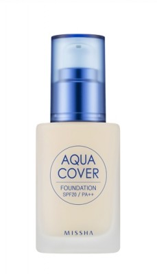 Тональный крем для лица MISSHA Aqua Cover Foundation SPF20/PA++ No.W21: фото