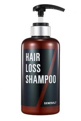 Шампунь против выпадения волос для мужчин SCINIC General 7 Hair Loss Shampoo 500мл: фото