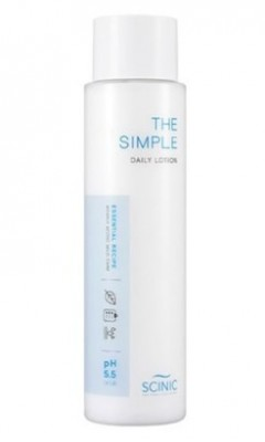 Слабокислотный успокаивающий лосьон SCINIC The Simple Calming Lotion 145мл: фото