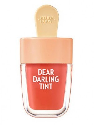 Увлажняющий гелевый тинт для губ ETUDE HOUSE Dear Darling Water Gel Tint №205 Apricot Red: фото