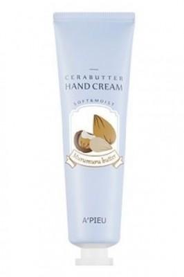 Крем-баттер для рук с маслом мурумуру A'PIEU Cerabutter Hand Cream Murumuru Butter: фото