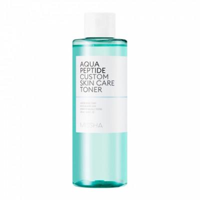 Тоник для лица MISSHA Aqua Peptide Custom Skin Care Toner 200 мл: фото