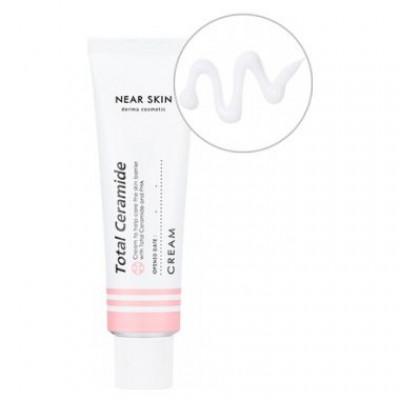 Защитный крем для чувствительной кожи MISSHA Near Skin Total Ceramide Cream 50 мл: фото