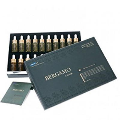Сыворотка ампульная с экстрактом икры для витаминизации кожи BERGAMO 20 ампул: фото