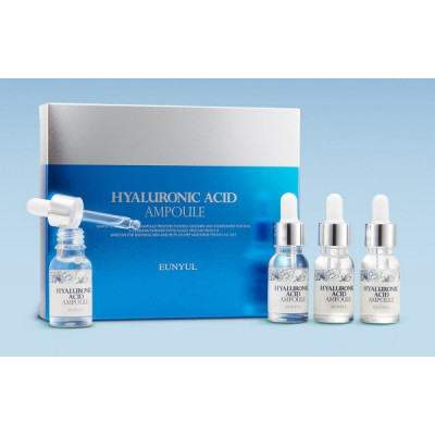Сыворотка ампульная с гиалуроновой кислотой EUNYUL Hyaluronic Acid Ampoule, набор 4 флакона: фото
