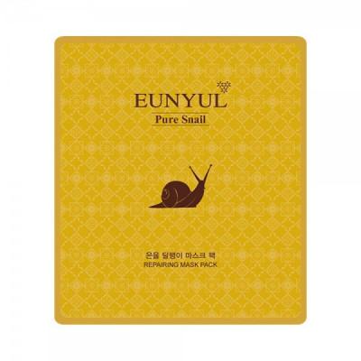 Тканевая маска с муцином улитки EUNYUL Snail Mask Pack, 30мл: фото
