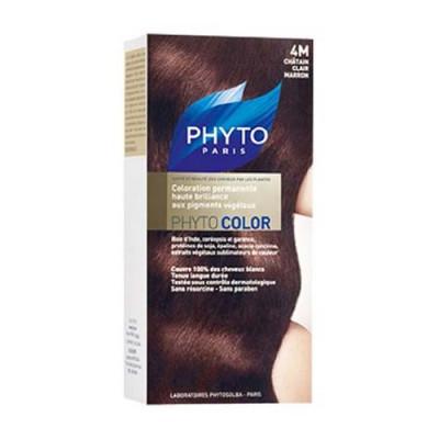Краска для волос PHYTOSOLBA Phyto Color 4М Светлый каштан: фото