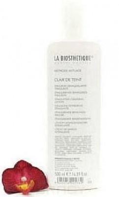 Эмульсия мягко стимулирующая очищающая для сухой кожи La Biosthetique Anti-Age Clair de Teint Stimulant 500мл: фото