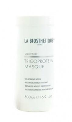 Маска увлажняющая для сухих волос с мгновенным эффектом La Biosthetique Mask Tricoprotein 500мл: фото