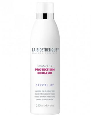 Шампунь для холодных оттенков блонд La Biosthetique Shampoo Protection Couleur Crystal07 250мл: фото
