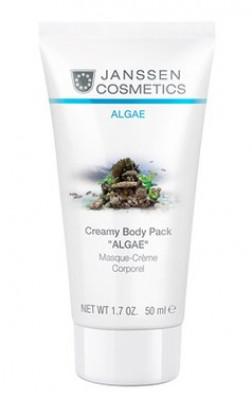 Кремовое обертывание моделирующее Janssen Cosmetics Creamy Body Pack Algae 50мл: фото