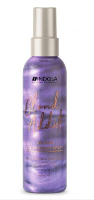 Спрей для холодных оттенков блонд Indola Blond Addict Care Ice Shimmer Spray 150мл: фото