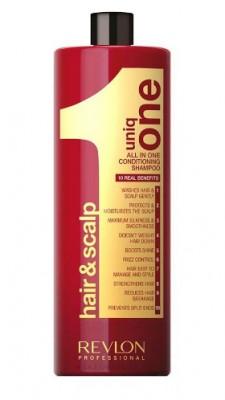 Шампунь кондиционирующий для волос Revlon Professional UNIQ ONE CONDITIONING SHAMPOO 1000мл: фото