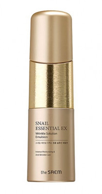 Эмульсия антивозрастная THE SAEM Snail Essential EX Wrinkle Solution Emulsion 150мл: фото