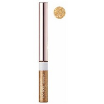 Тени для глаз сияющие THE SAEM Eco Soul Sparkling Eye 03 Golden Glamour 2,7г: фото