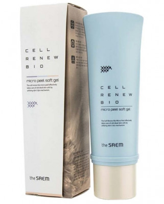 Пенка для умывания THE SAEM Cell Renew Bio Micro Peel Cleansing Foam 170мл: фото