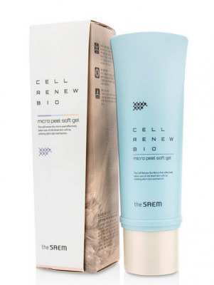 Гель-скатка THE SAEM Cell Renew Bio Micro Peel Soft Gel N2 160мл: фото