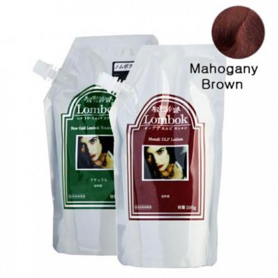 Система для ламинирования волос Gain Cosmetic Lombok Original set Mahogana Brown 2*500г: фото