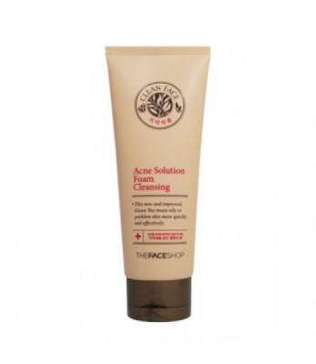 Пенка для умывания для жирной кожи THE FACE SHOP Clean Face Acne Foam Cleansing 150мл: фото