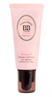 BB-крем минеральный ETUDE HOUSE Precious Mineral BB Cream Blooming Fit SPF30/PA+++ #W24 60г: фото