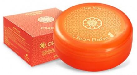 Бальзам очищающий с экстрактом цитруса TheYEON Jeju Yuja Clean Balm 80мл: фото