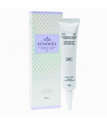 Крем для век омолаживающий с EGF DEOPROCE ESTHEROCE WHITENING & ANTI-WRINKLE POWER EYE CREAM 40мл: фото