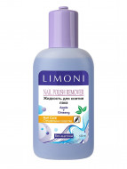 Жидкость для снятия лака LIMONI Яблоко, без ацетона 120 мл: фото