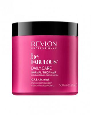 Маска ежедневный уход для нормальных/густых волос Revlon Professional BF D. NORMAL CREAM MASK 500мл: фото